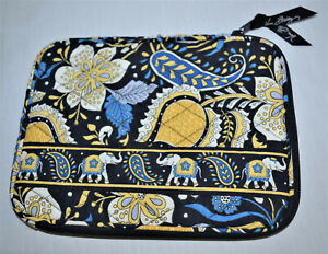 Vera Bradley Zip Case for Book or Tablet ~ Ellie Blue Pattern ~ FREE SHIPPING