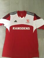 BNWOT Men's Middlesbrough FC home Football shirt Adidas size large number 21