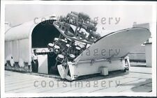 1957 Solar Furnace Stanford Research Institute Menlo Park CA Press Photo