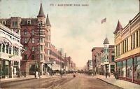 Boise, IDAHO - Main Street - 1920 - horse & buggy