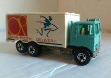 1980 Hot Wheels Workhorses Highway Hauler Ocean Pacific Delivery Truck