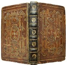 1568 Officium Hebdomade Sancte. Grolieresque entrelac binding. Liechtenstein