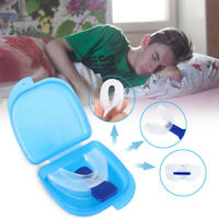 NEW Stop Snoring Mouthpiece Sleep Apnea Guard Bruxism Anti Snore Pure Grind Aid