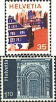 Schweiz 1067,1068 (kompl.Ausg.) gestempelt 1975 Sondermarken