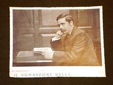 Scrittore Herbert George Wells di Bromley nel 1906