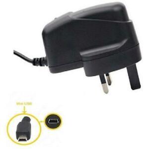 Mains Charger MINI USB for TOM TOM 1 ONE V2 V3 V4 SAT NAV GPS - izzibuyer®