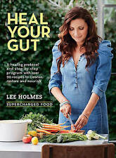 Heal Your Gut: Supercharged Food by Lee Holmes (Paperback, 2015) NEW, FREE POST