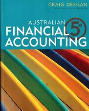 Australian Financial Accounting by  Craig Deegan- fifth edition