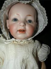 """ANTIQUE KESTNER BISQUE BABY  DOLL GERMAN 18"""" LONG"""