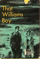 That Williams Boy by T.Morris Longstreth-hb dj-BUY ANY 4 BOOKS FOR FREE SHIPPING