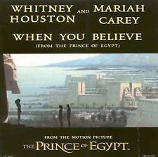When You Believe [Single] by Mariah Carey/Whitney Houston (CD, Jan-1999, Dreamwo