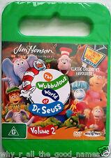 DVD Jim Henson THE WUBBULOUS WORLD OF DR. SEUSS - ABC Childrens TV Show - Vol.2