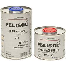 1,5 Liter Set 2K HS Felisol Klarlack Glanz Kratzfest Autolack Lackpoint Trend