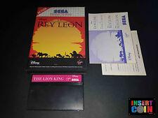 JUEGO SEGA MASTER SYSTEM  EL REY LEON / THE LION KING