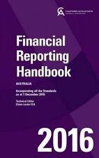 Financial Reporting Handbook 2016 Australia (2nd Ed.)  by Locke, Caanz & CAANZ (
