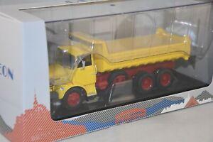 Odeon 070 - Berliet Gbh 12 6X4 Benne Yellow 1/43