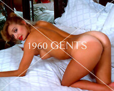1980s NUDE 8X10 PHOTO BUSTY NICE ASS + NIPPLES LATINA PINUP FROM ORIGINAL NEG-L1