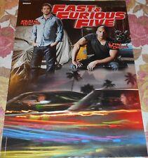 Paul Walker & Vin Diesel / Britney Spears - Magazine Poster (A3)