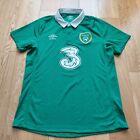 Mens Umbro Republic of Ireland Home football shirt 2015 - 2016 Size M
