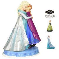 Westland Giftware Disneys Frozen Elsa and Anna Resin Figurines
