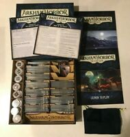 Arkham Horror LCG - Core Set + Dunwich Legacy Deluxe in Custom Wooden Organizer!
