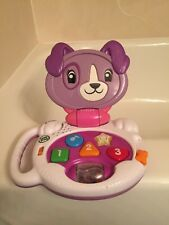 🔴 LeapFrog My Talking LapPup (Violet) Toddler laptop F4