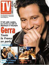 Mag 2002: LAURENT GERRA_CATHERINE BELL_EMMANUELLE GAUME_MARIO BARRAVECCHIA