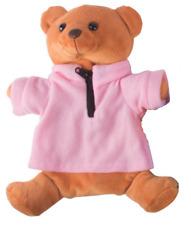 Wärmflasche Kuschelbezug Wärmeflasche Wärmkissen Flasche Bär braun rosa Jacke