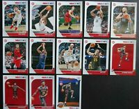 2019-20 Panini NBA Hoops Atlanta Hawks Base Team Set of 13 Basketball Cards