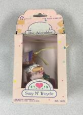 Vintage The Adorables Doll Suzy N` Tricycle 1988 New In Box