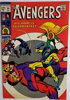 AVENGERS 59 1ST APP YELLOW JACKET BRIGHT COLORS NICE 7.0-8.0 ENDGAME ANT MAN