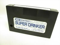 MSX SUPER DRINKER Cartridge only Import Japan Video Game msx