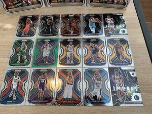 2020-2021 Panini Prizm Basketball Rookie Card Lot - 15 Rookies