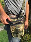 Falco Tactical Shoulder bag for concealed gun carry, model 519/2 MK3, Multicam