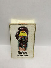 RARE- Vintage Boxing Glove, Scotch Tape Advertisement Playing Cards