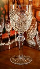 "Waterford Crystal POWERSCOURT (CUT) CLARET RED WINE GLASSES  7 1/8"" 690/124"