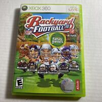 NFL Backyard Football '10 Microsoft Xbox 360 Complete Video Game Free Shipping