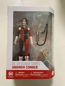 DC Comics Spacesuit Harley Quinn Designer Series Action Figure By Amanda Conner