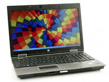 "Laptop Computer HP 8540w 15.6"" Core i7 8GB 256GB SSD DVD Wifi Windows 10 PC"
