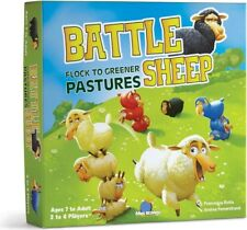 Blue Orange Battle Sheep Board Multiplayer Strategy Game