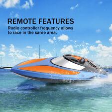 Toyabi 2.4G RC High Speed Racing Water Cooling Lightning RTR Boat +2 Batteries