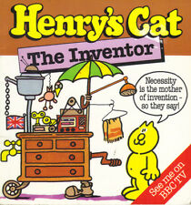 HENRY'S CAT - THE INVENTOR - BOB GODFREY/STAN HAYWARD - PB 1984 1st Edn  -  VG
