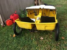 RARE VINTAGE People Powered Vehicle Peddle Paddle Boat