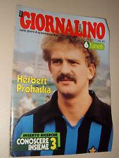 IL GIORNALINO=1980/41=HERBERT PROHASKA COVER POSTER=MAURIZIO MICHELI=INSERTO=
