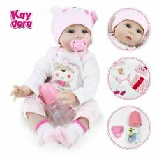 16 Inch Silicone Reborn Dolls 40cm Toddler Stuffed Play Birthday Surprise Gifts