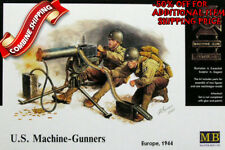 Master Box 3519 WWII US Machine-Gunners (2 Figures w/Machine-Gunner), kit 1/35