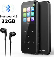 32GB MP3 Player with Bluetooth 4.2, ADOKEY Digital Music Player with FM Radio