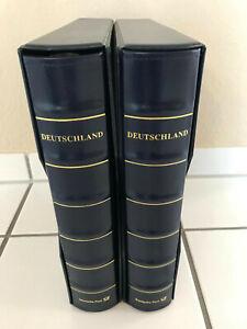 2 DEUTSCHLAND-PLUS-ALBEN + SCHUBER + VORDRUCKE 2001-2006