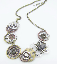 Fabulous Steampunk Spider Necklace! NEW!