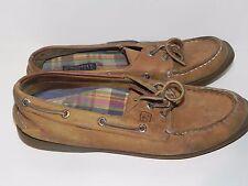 Sperry Top-Sider Womens Authentic Original 2-Eye Boat Shoe Sahara 9.5 M